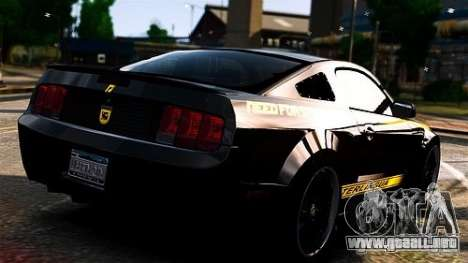 Ford Mustang (Shelby Terlingua) v1.0 para GTA 4 left