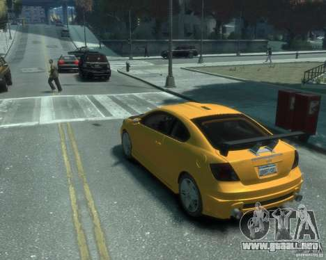 Toyota Scion Tc 2.4 para GTA 4 left