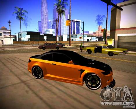 BMW M3 E92 Drift Version para GTA San Andreas left