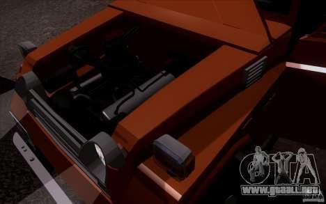 Toyota Land Cruiser FJ55 para la visión correcta GTA San Andreas