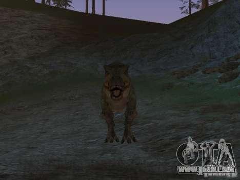 Dinosaurs Attack mod para GTA San Andreas sexta pantalla