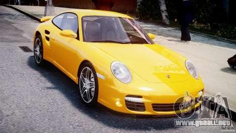 Porsche 911 Turbo V3.5 para GTA 4 visión correcta