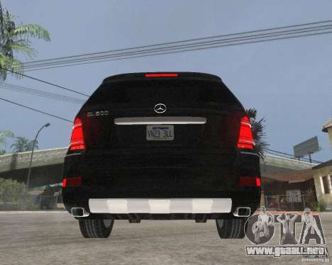 Mercedes-Benz GL500 SE para GTA San Andreas vista posterior izquierda