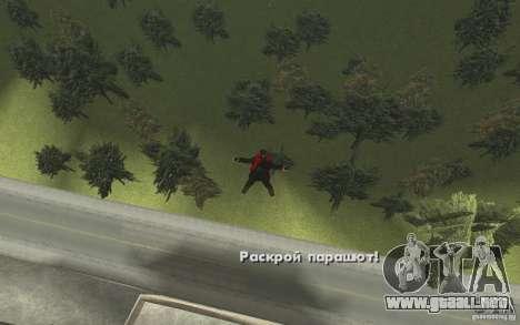 Animación de GTA IV v 2.0 para GTA San Andreas undécima de pantalla