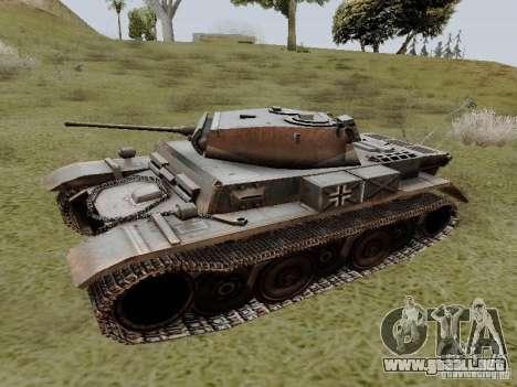 PzKpfw II Ausf.B para GTA San Andreas left