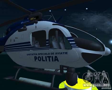EC-135 Gendarmerie Police para la visión correcta GTA San Andreas
