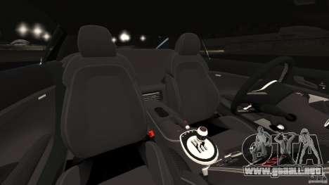 Audi R8 5.2 Stock Final para GTA 4 vista interior