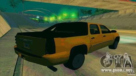 Chevrolet Avalanche 2011 para GTA San Andreas left