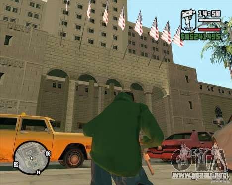Textura mejorada del Ayuntamiento para GTA San Andreas tercera pantalla