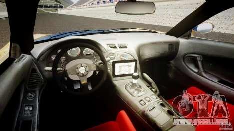 Mazda RX-7 Veilside v0.8 para GTA 4 visión correcta