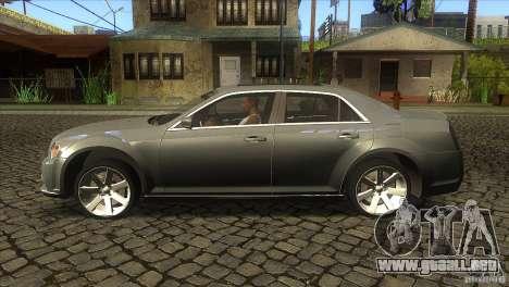 Chrysler 300 SRT-8 2011 V1.0 para GTA San Andreas left