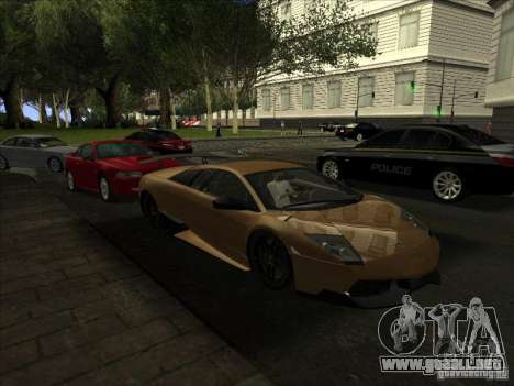 Queen Unique Graphics HD para GTA San Andreas sucesivamente de pantalla