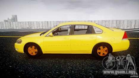 Chevrolet Impala 9C1 2012 para GTA 4 left