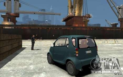 Smart For Two para GTA 4 Vista posterior izquierda