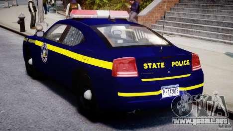 Dodge Charger NY State Trooper CHGR-V2.1M [ELS] para GTA 4 visión correcta