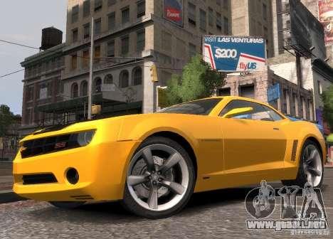 Chevrolet Camaro concept 2007 para GTA 4 left
