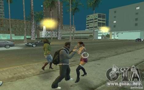 Animación del GTA IV para GTA San Andreas sexta pantalla