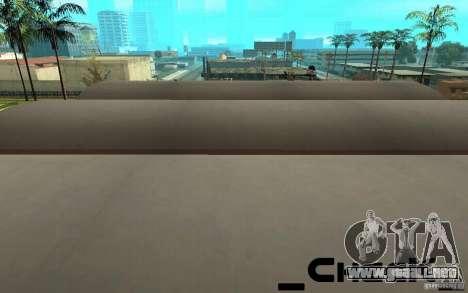San noticias de respawn para GTA San Andreas tercera pantalla