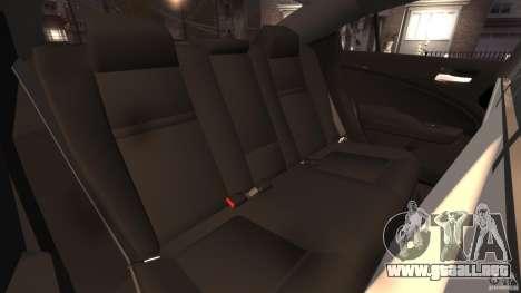 Dodge Charger RT Max Police 2011 [ELS] para GTA 4 vista lateral