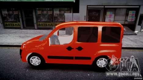 Fiat Doblo 1.9 2009 para GTA 4 left