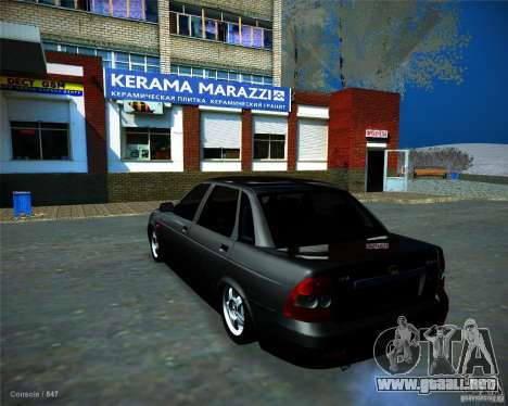 Lada Priora Vip Style para GTA San Andreas left