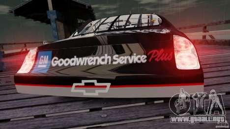 Chevy Monte Carlo SS FINAL para GTA 4 visión correcta