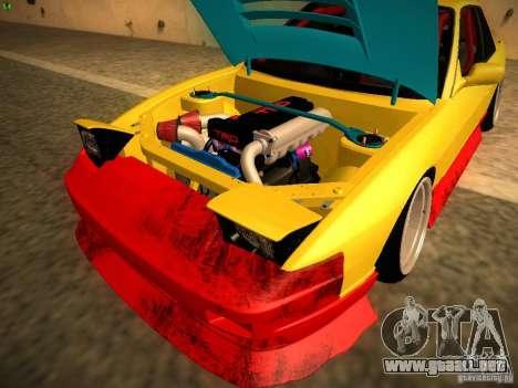 Nissan Onevia 2JZ para visión interna GTA San Andreas
