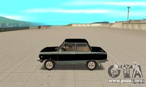 ZAZ 968 m ver 1.0 para GTA San Andreas left