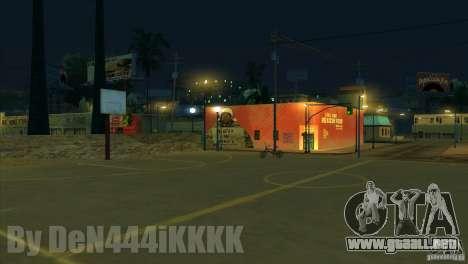 Graffiti para GTA San Andreas sucesivamente de pantalla