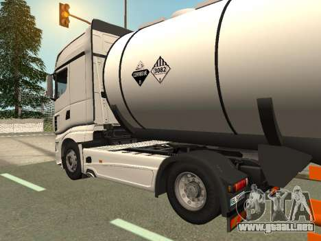 Scania R700 Euro 6 para GTA San Andreas left