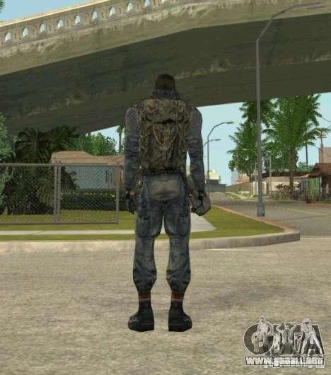Agrupación de mercenarios de un acosador para GTA San Andreas tercera pantalla