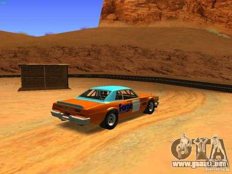 Jupiter Eagleray MK5 para GTA San Andreas vista posterior izquierda