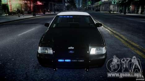 Ford Crown Victoria Massachusetts Police [ELS] para GTA 4