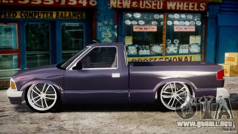 Chevrolet S10 1996 Draggin [Beta] para GTA 4 left