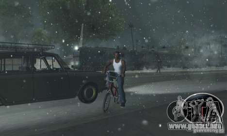Un jinete fuerte para GTA San Andreas tercera pantalla