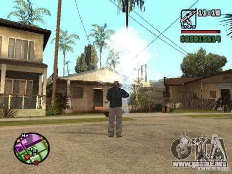 Overdose effects V1.3 para GTA San Andreas segunda pantalla