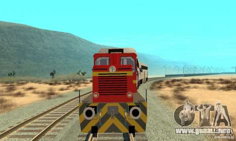 Locomotora LDH 18 para GTA San Andreas left