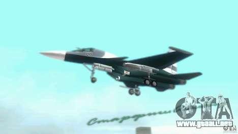 Vice City Air Force para GTA Vice City visión correcta