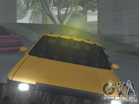 Zombie Taxi para visión interna GTA San Andreas