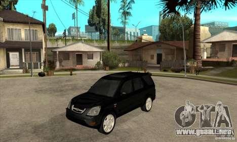 Honda CRV (MK2) para GTA San Andreas