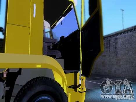 KAMAZ 62177 para la vista superior GTA San Andreas
