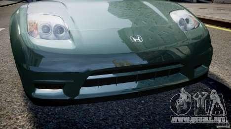 Honda NSX NA2 [Beta] para GTA 4 ruedas