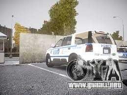 Ford Expedition Truck Enforcement para GTA 4 Vista posterior izquierda