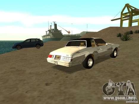 GFX Mod para GTA San Andreas segunda pantalla