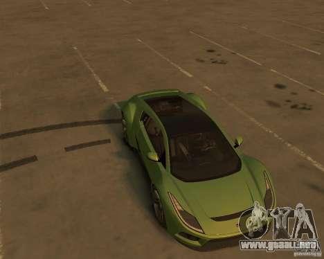 2010 Saleen S5S Raptor para GTA 4 vista hacia atrás