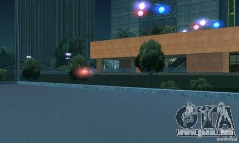 Luz púrpura para GTA San Andreas quinta pantalla