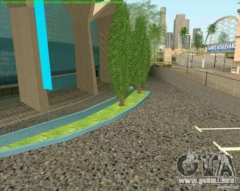 Nuevas texturas Los Santos Estadio Foro para GTA San Andreas sucesivamente de pantalla