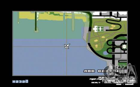 Mountain map para GTA San Andreas séptima pantalla