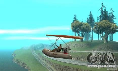 Wingy Dinghy (Crazy Flying Boat) para GTA San Andreas left