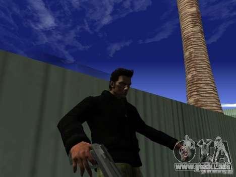 Claude HD Remake (Beta) para GTA San Andreas sexta pantalla
